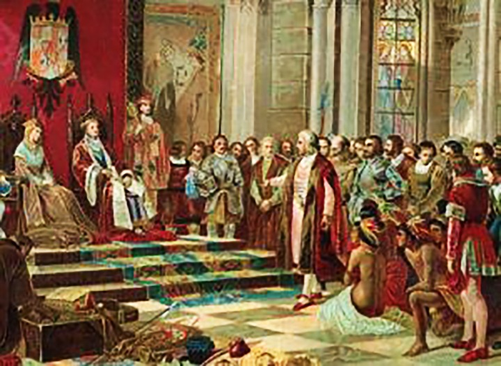 colon ante reyes catolicos espiritu guardian