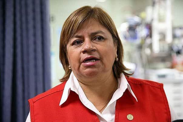ministra de salud