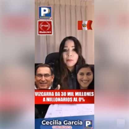 Congresista Cecilia Garcia