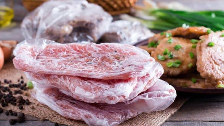 descongelar carne