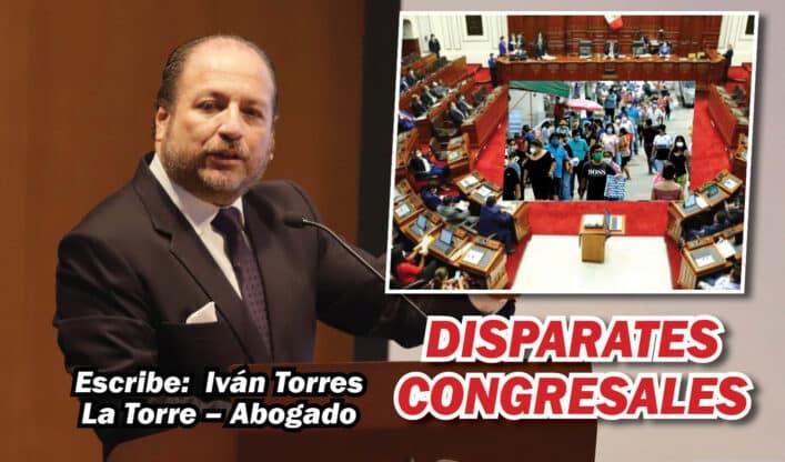 disparates congresales