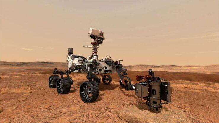 NASA lanza Robot Perseverance en busca de Vida en Marte
