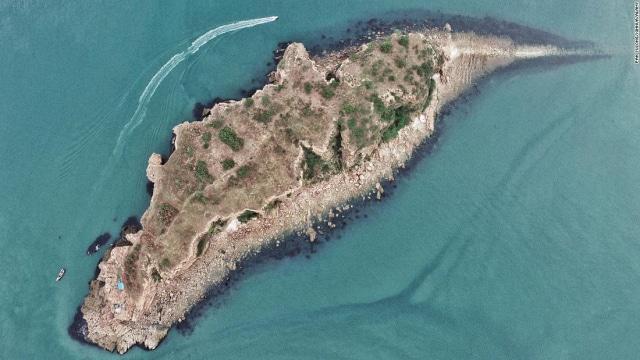 isla en china