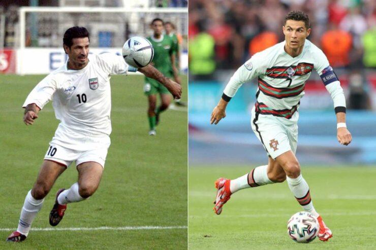 """Cristiano Ronaldo agradece a Ali Daei tras récord de goles para selección: """"Orgulloso"""""""