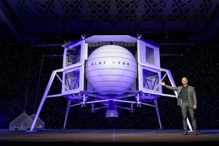 Blue Origin demanda a la NASA por acuerdo con SpaceX